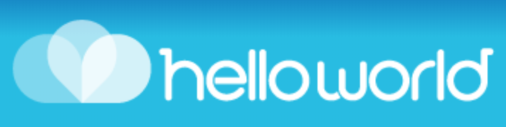 Hello World Logo - A Member Of Nelson Business Network